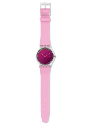 Swatch SUOK710 Silikon Pembe Kol Saati Pembe